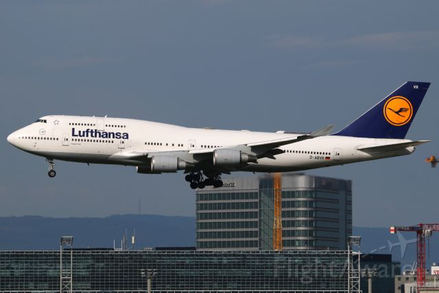 Boeing 747-400 (D-ABVR)