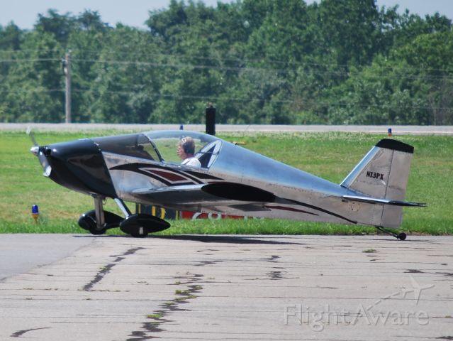 Experimental  (N13PX) - Taxiing to runway 28 - 6/18/09