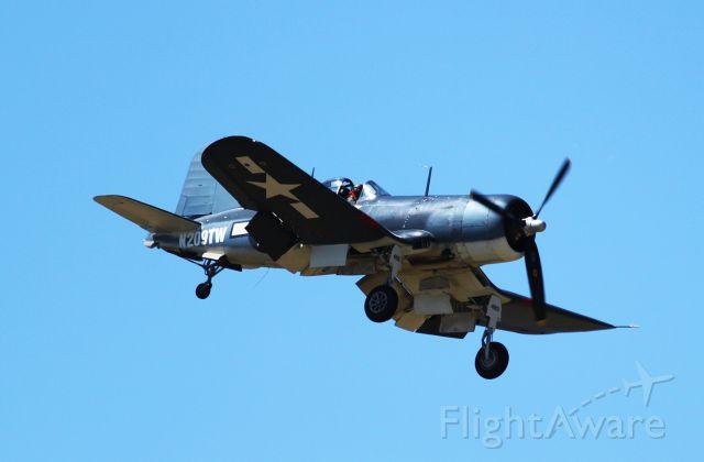 N209TW — - Corsair arriving at BQN