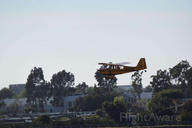CHAMPION Sky-Trac (N11659) - Really cool Bellanca 7KCAB into John Wayne!