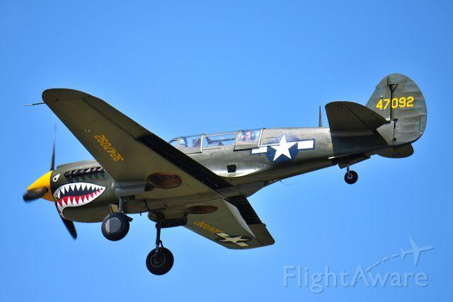CURTISS Warhawk (N293FR) - Collins Foundation P-40 Warhawk