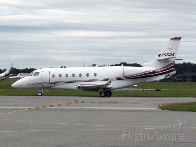 IAI Gulfstream G200 (N755QS) - After landing runway 16.