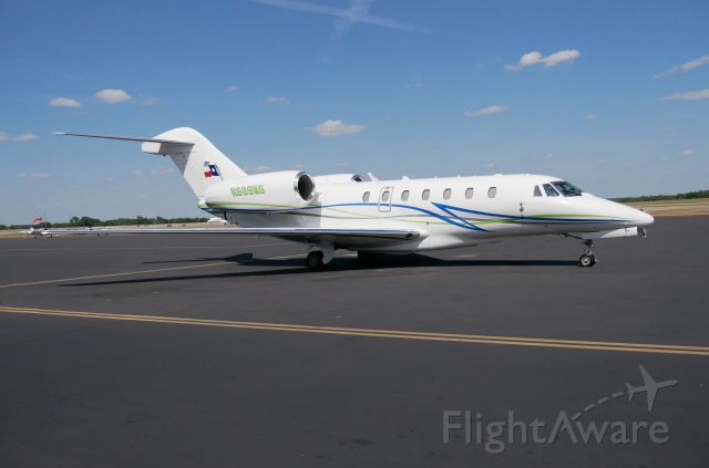 Cessna Citation X (N699MG) - On the ramp prior to a flight on this beautiful flying machine.