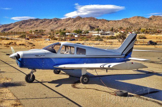 Piper Cherokee (N32825) - N32825 - 1974 Piper PA-28-140 at L22 Yucca Valley CA