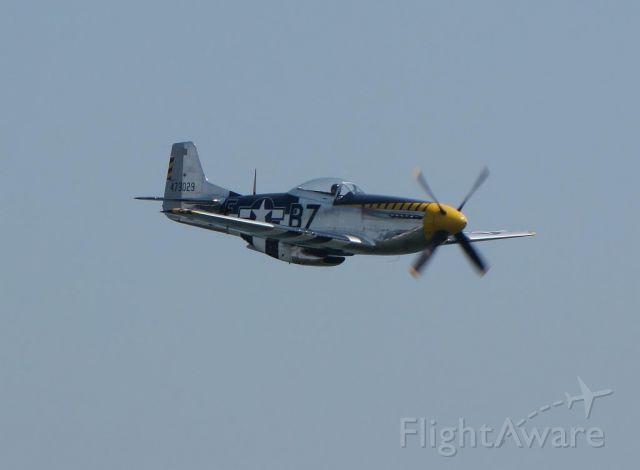 "North American P-51 Mustang (N51JB) - Jim Beasley in ""Bald Eagle""  at ""Thunder over the Boardwalk"" in Atlantic City, NJ"
