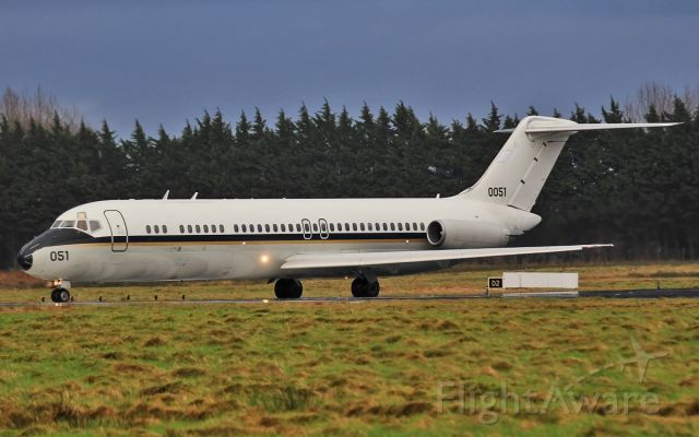 16-0051 — - usn c-9b 160051 ready for dep from shannon 16/1/14.