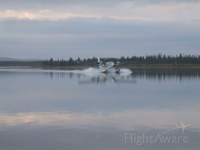 C-GJDE — - Just landed  and Taxiing to Birth at Otter Creek,Goose Bay NL