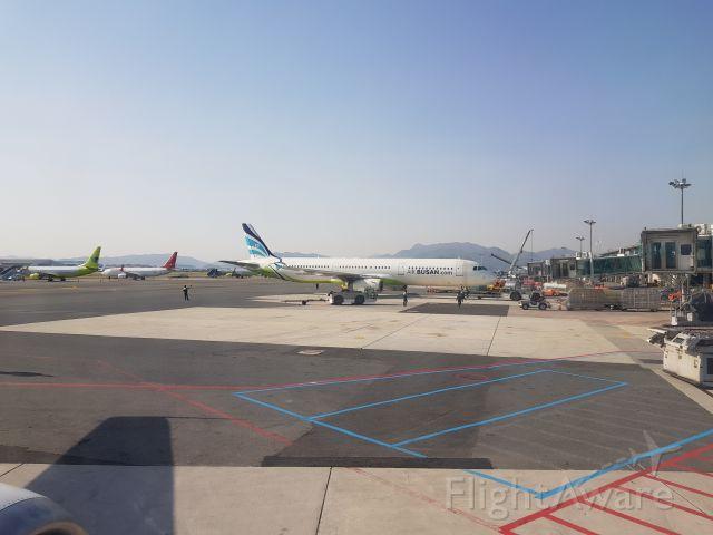 Airbus A321 (HL7767) - Plane sitting