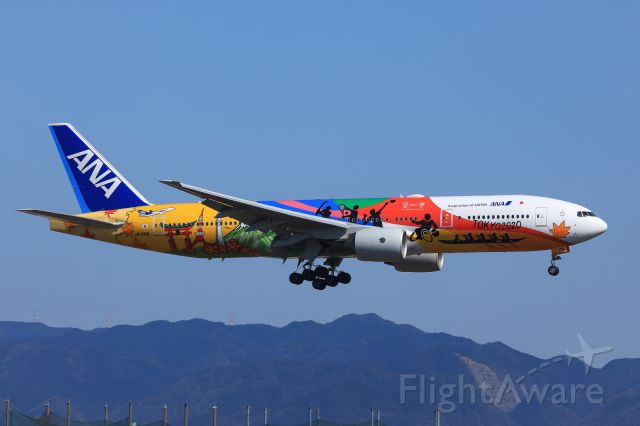 Boeing 777-200 (JA741A) - AIRCRAFTbr /Boeing 777-281(ER)br /AIRLINEbr /All Nippon Airways (Hello 2020 Jet Livery)br /OPERATORbr /All Nippon Airways