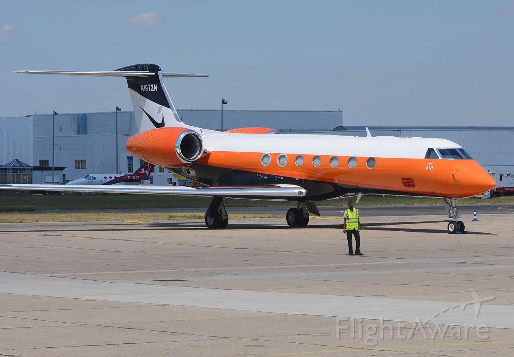 Gulfstream Aerospace Gulfstream V (N1972N) - 06/07/2015br /Nike Corporation