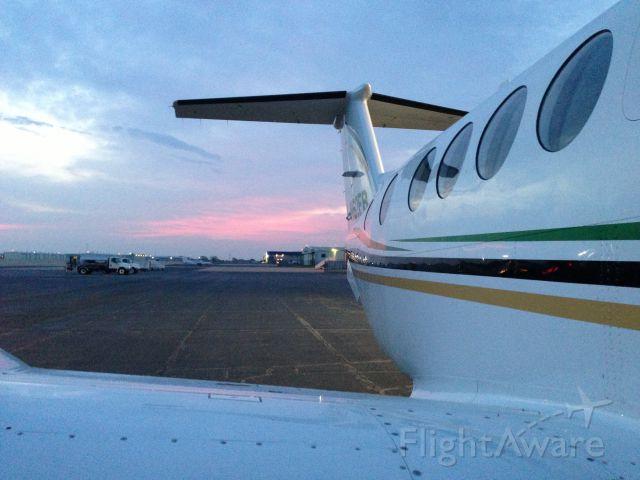Beechcraft Super King Air 200 (N62FB) - Morning preflight inspection