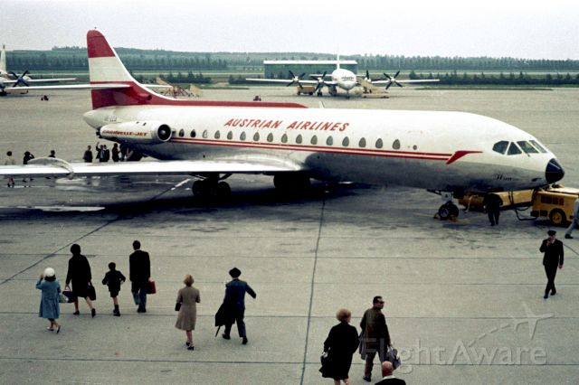 SUD-EST SE-210 Caravelle (OE-LCA) - 1966 at Vienna