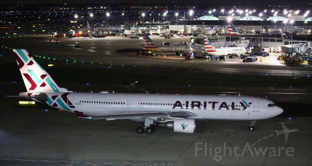Airbus A330-300 — - AY10 Flown by Air Italy.