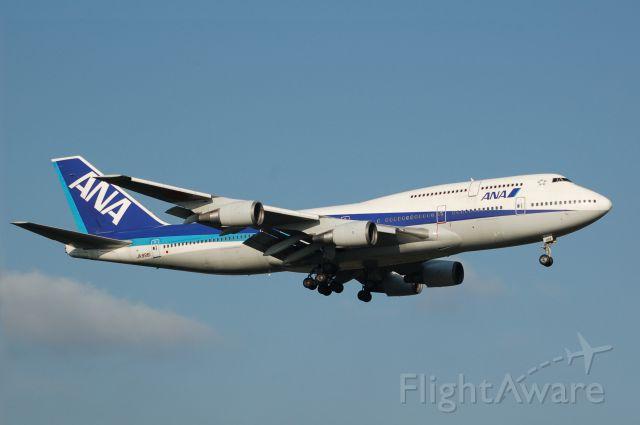 Boeing 747-400 (JA8961) - JA8961 ANA Boeing 747-481(D) c/n 25644/975