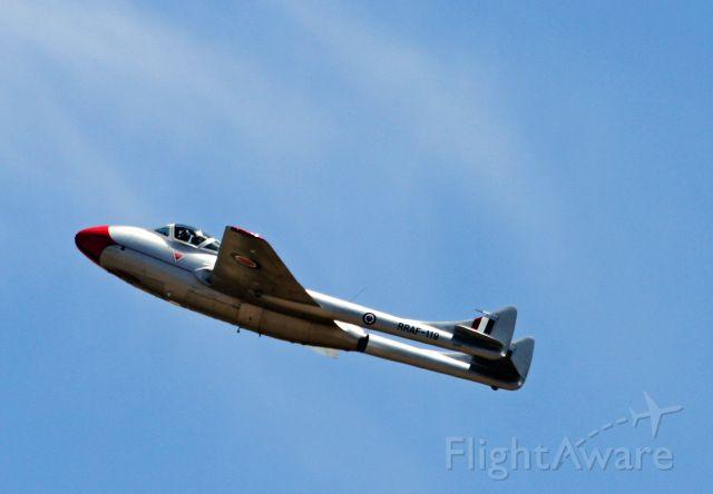F+W EMMEN Vampire (PRAF119) - Temora Airshow NSW Australia