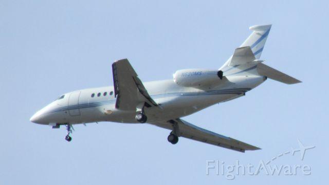 Dassault Falcon 2000 (N620MS) - Eagle, Colorado. 5 Mile Final.