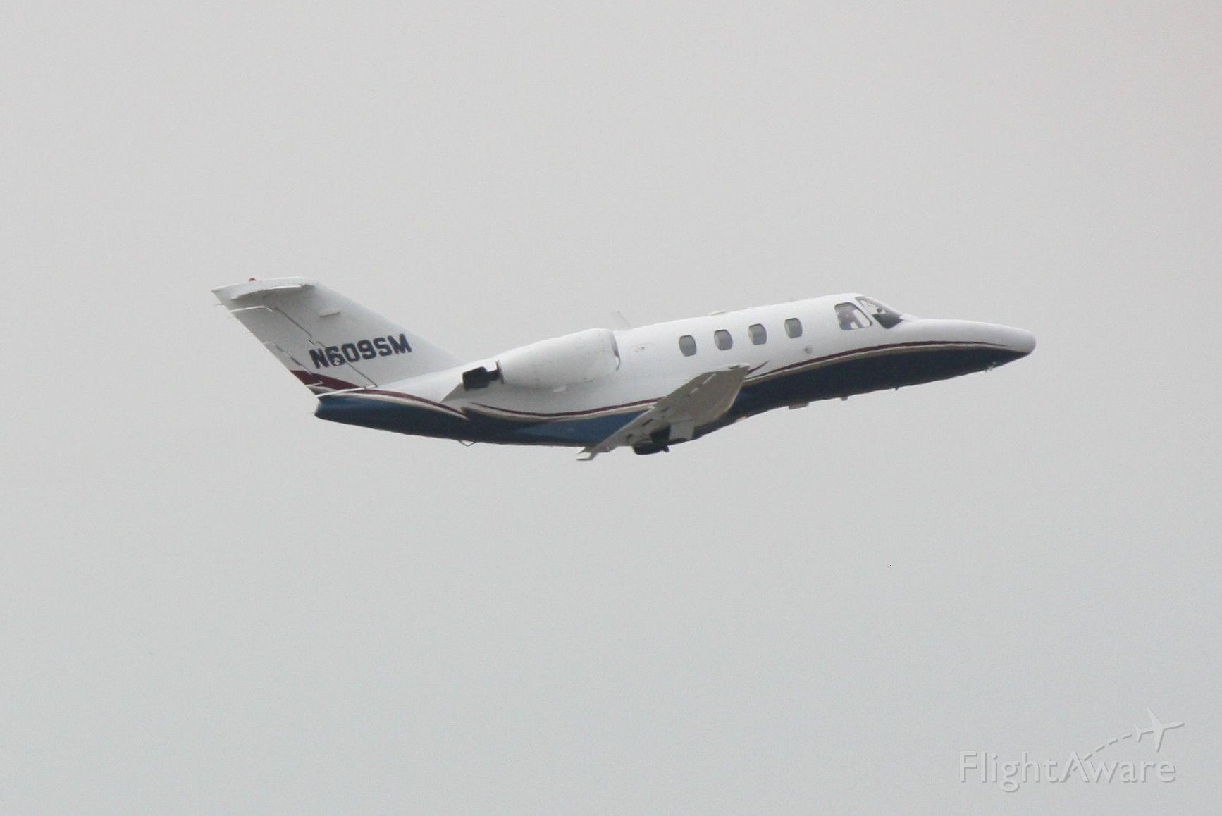 Cessna Citation CJ1 (N609SM) - Cessna Citation I (N609SM) departs Sarasota-Bradenton International Airport enroute to Savannah Airport