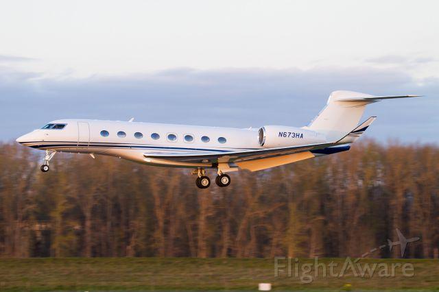 Gulfstream Aerospace Gulfstream G650 (N673HA)