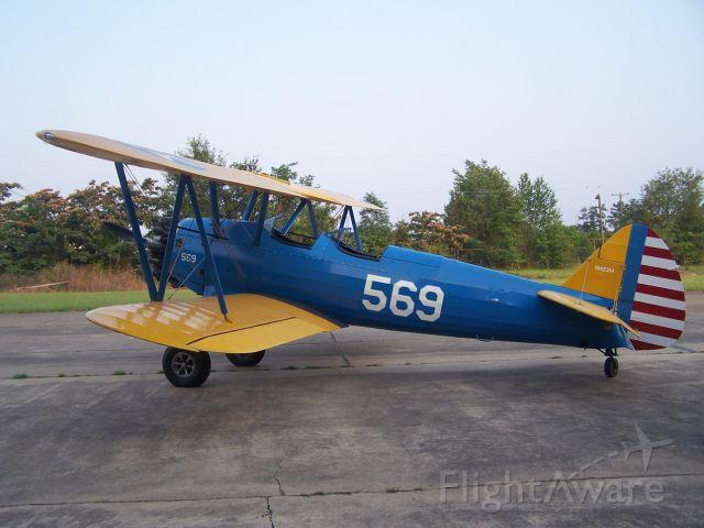 Boeing PT-17 Kaydet (N1423M) - 1940 Stearman in Laurel, MS