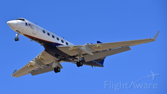 Gulfstream Aerospace Gulfstream V (N677F) - National Science Foundation Gulfstream G-V on final for RWY 17L at Colorado Springs Airport