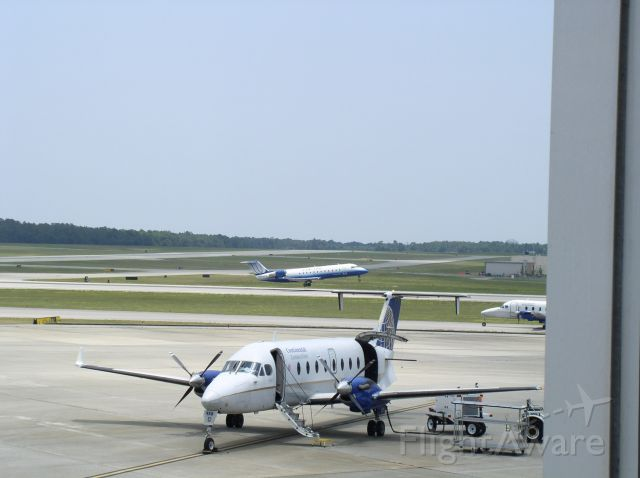 Beechcraft 1900 — - Continental and United.