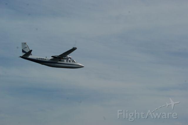 Rockwell Turbo Commander 690 (C-FSDA) - Crystal Lake, Ontario