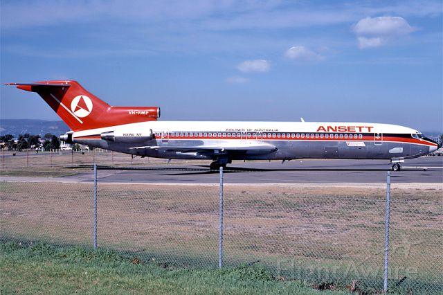 Piper Saratoga/Lance (VH-RMP) - ANSETT AIRLINES OF AUSTRALIA - BOEING 727-277 - REG : VH-RMP (CN 22068/1660) - ADELAIDE INTERNATIONAL SA. AUSTRALIA - YPAD 22/4/1981 35MM SLIDE CONVERSION LIGHTBOX AND A NIKON L810 CAMERA (MACRO)