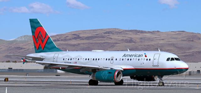 Airbus A319 (N838AW) - Taxiing for an afternoon departure to Dallas.