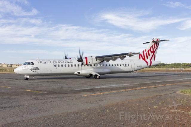 Aerospatiale ATR-72-600 (VH-VPJ) - Virgin Australia (VH-VPJ) ATR 72-600 at taxiing at Narrandera-Leeton Airport.