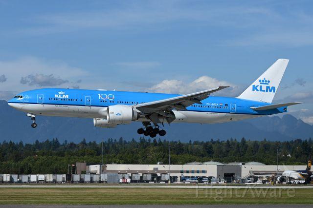 Boeing 777-200 (PH-BQA)