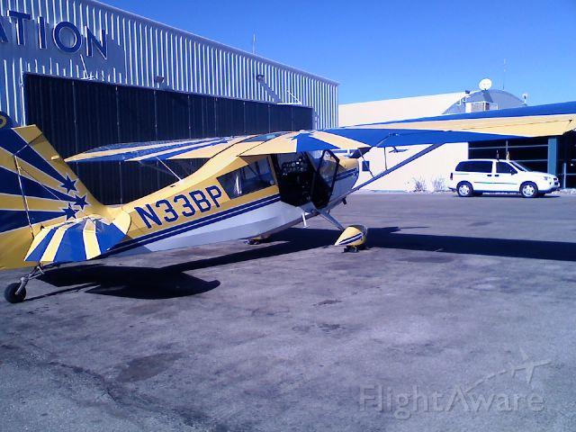 Beechcraft Beechjet (N33BP) - Not a Beechcraft. Super Decathlon.