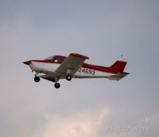 Beechcraft Sundowner (N24693) - Departing EAA Airventure/Oshkosh on 24 July 2012