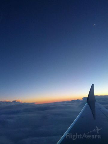 N953TJ — - West to East Sunset