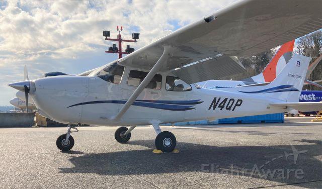 Cessna Skyhawk (N4QP) - N4QP on the Rainier Flight Service ramp in Renton, WA