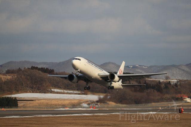 BOEING 767-300 (JA659J) - February 24th 2020:HKD-HND.