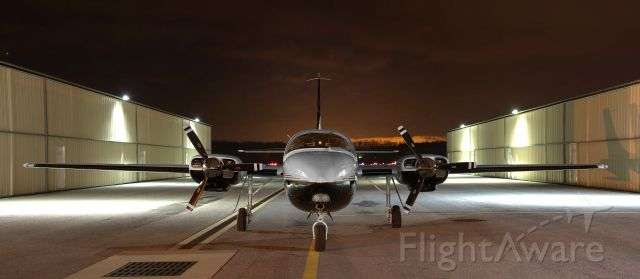 Piper Aerostar (N141AJ) - N141AJ  Piper Aerostar 601P  KFDK  20120224