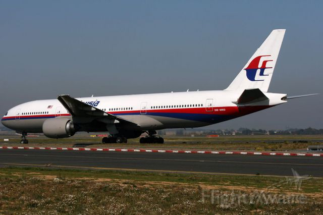 Boeing 777-200 (9M-MRD) - MH 370 aircraft the one thats missing