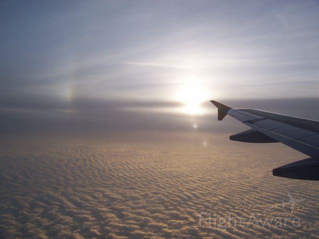 N465UA — - Mid afternoon skys above Florida