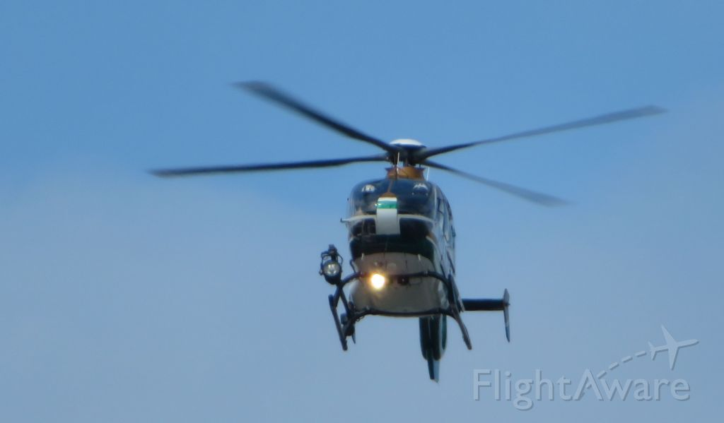— — - BSO helicopter