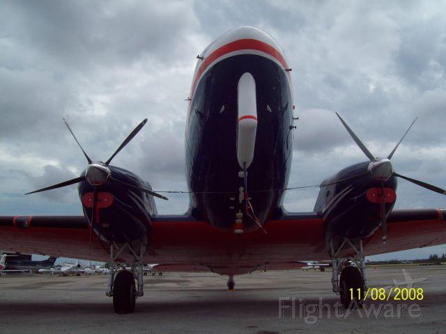 Douglas DC-3 (turbine) (C-GAWI) - CGAWI parked at Executive Flight Support... Nassau, Bahamas