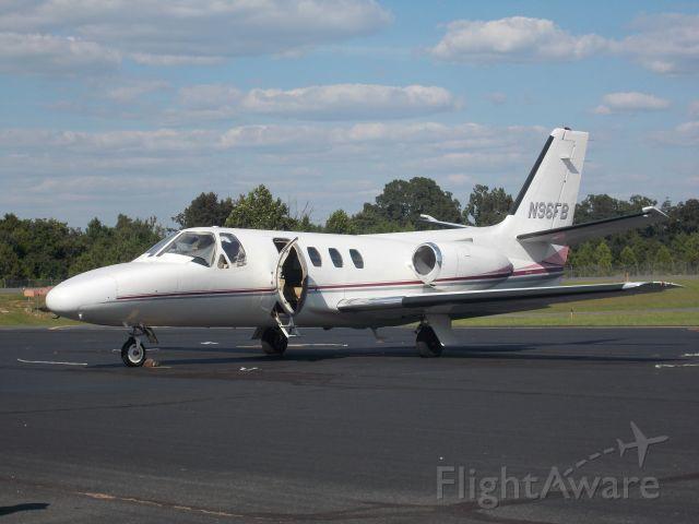 Cessna 500 Citation 1 (N96FB) - Parked on ramp