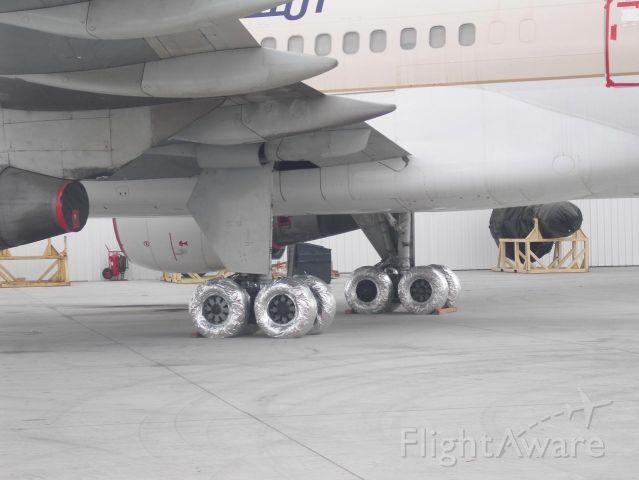 Boeing 757-200 — - Saudi 752 wrapped up for storage KVCV