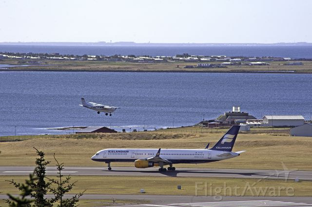 TF-FIZ — - Icelandair at Reykjavik city airport during a flight show commemorating the 70 years of the airport