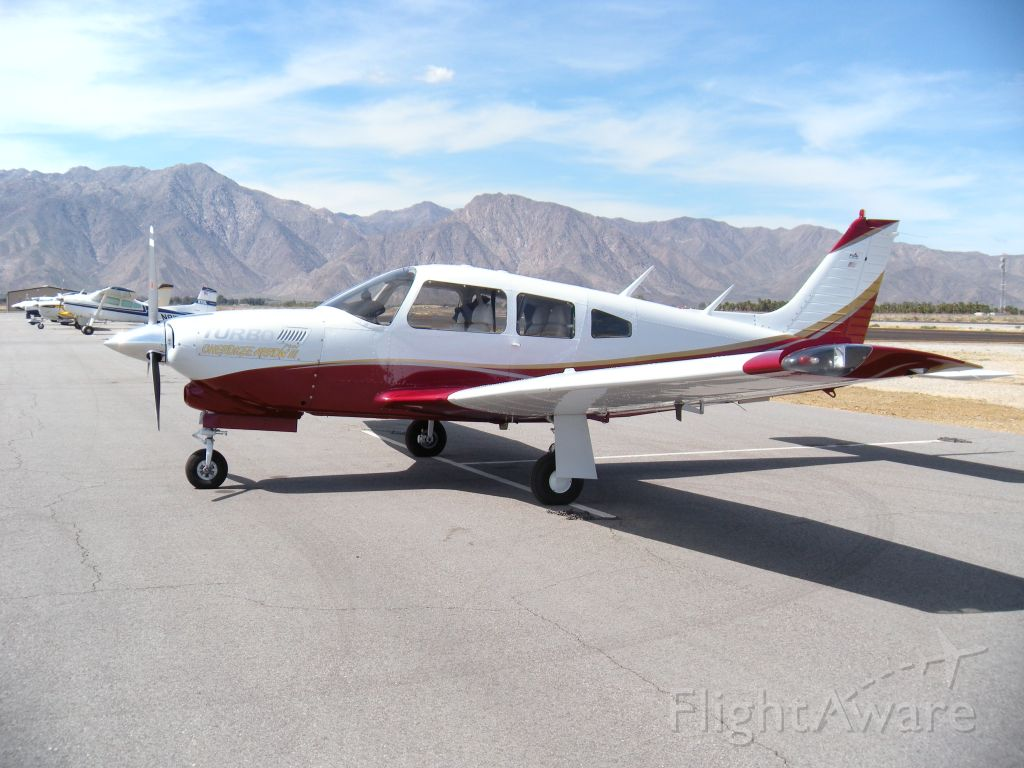 Piper Cherokee Arrow (N5966V) - Piper Turbo Arrow at Borrego Springs Airport, CA
