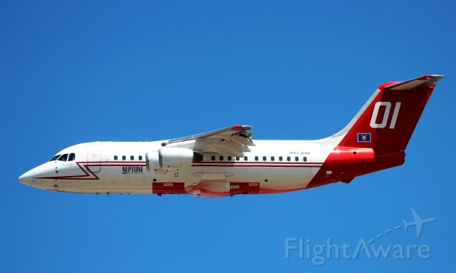Piper Cherokee Arrow (N473NA) - Departing Rogue Valley Intl Airport for the Happy Camp Complex fires.
