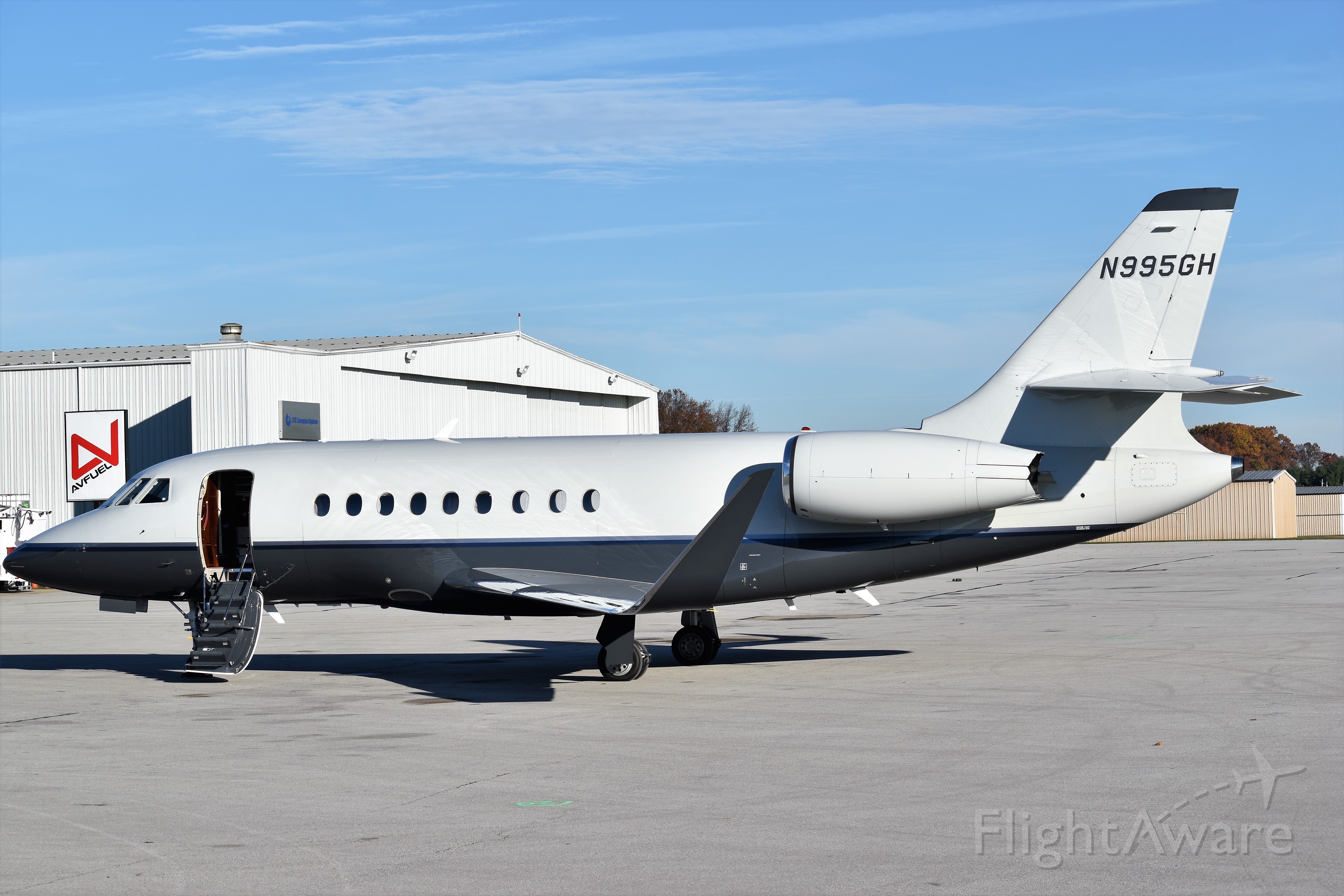 Dassault Falcon 2000 (N995GH) - Best at full size