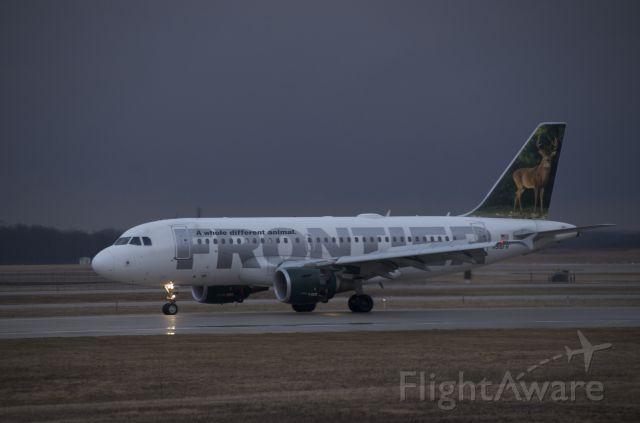 Airbus A319 (N918FR)