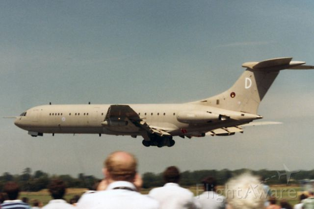 VICKERS VC-10 (ZA143D) - At the Royal Air Tattoo in 1985. Scanned from a print.