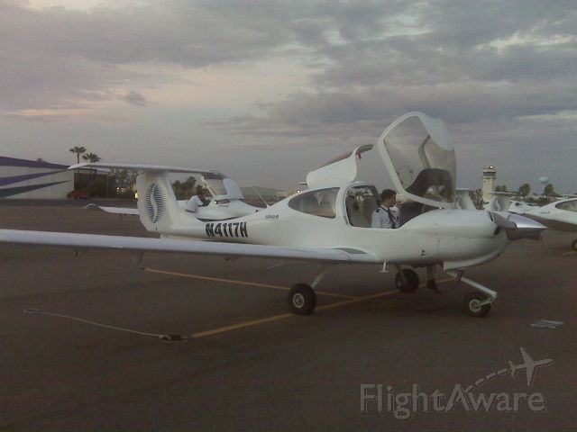 Diamond Star (N4117H) - Early Morning flight with my two Sabena students...