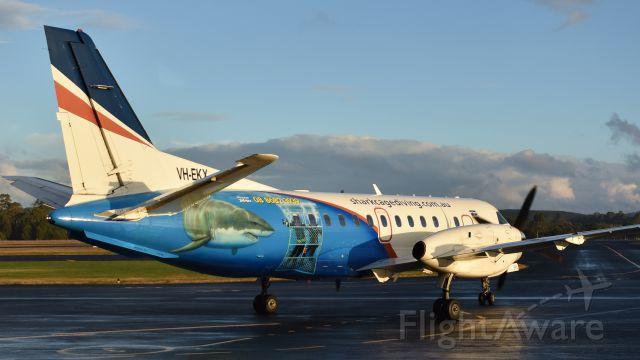 Saab 340 (VH-EKX) - Rexional Express Saab 340B VH-EKX (340B-257) taxing to the runway at Wynyard Airport Tasmania on 21 May 2017.